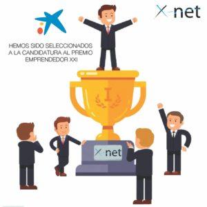 Candidatura al Premio Emprendedor XXI