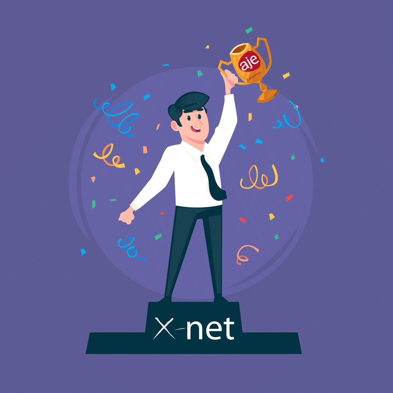 X-Net Software - Ganadores de los premios Aje