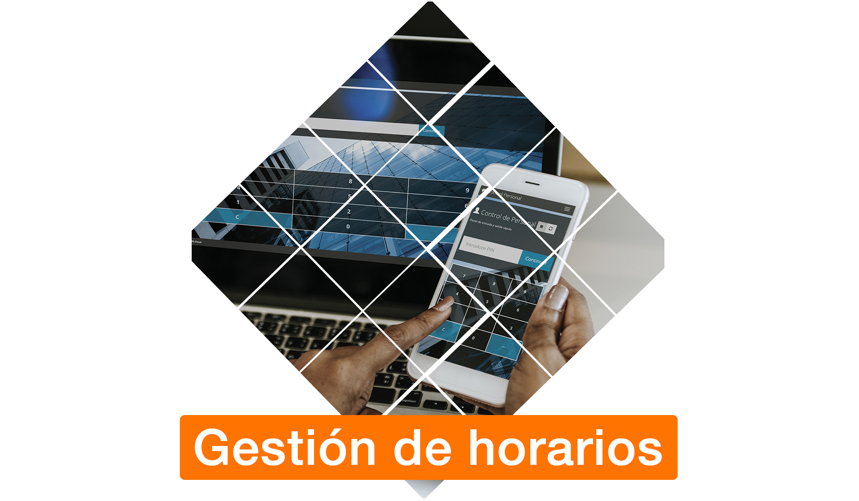 Folleto ''Gestion de horarios - El Rosario''
