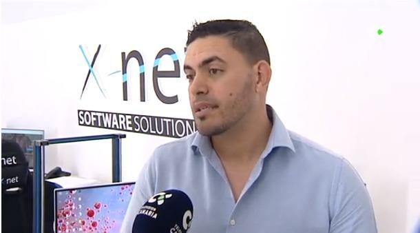 José Ramos Exposito habla del Software de Control de horarios en Buenos Días Canarias