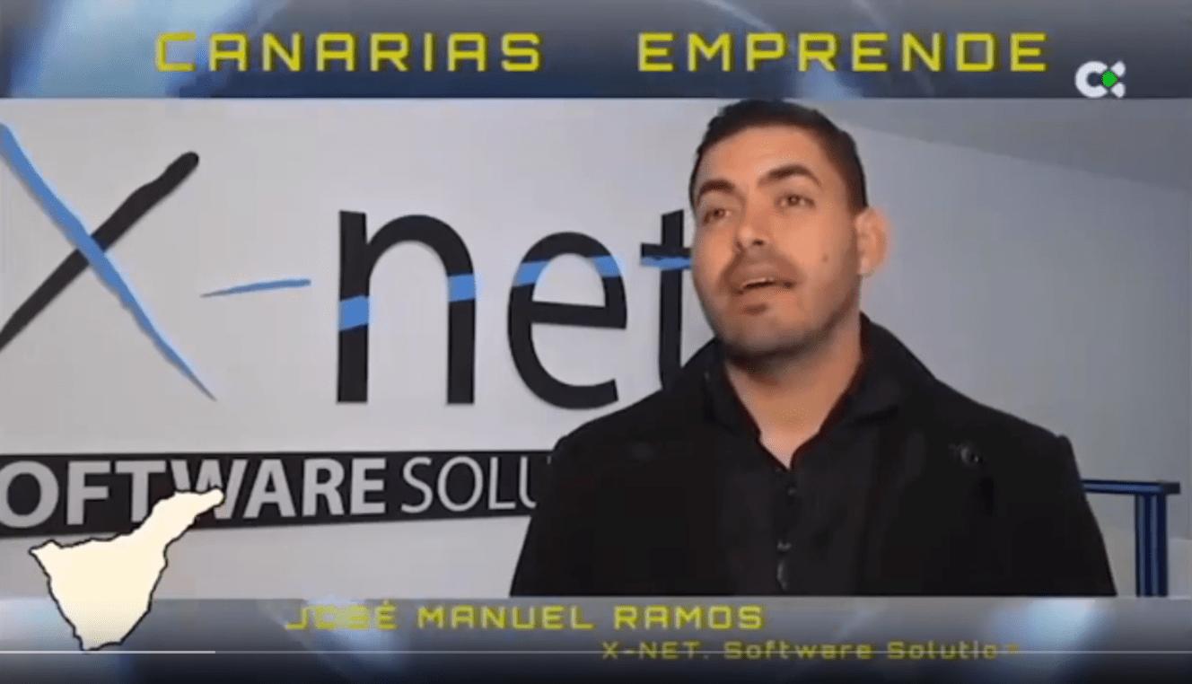José Ramos, CEO de X-Net Software en Canarias Emprende