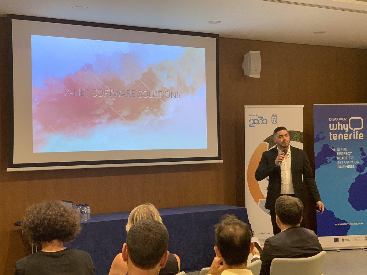 José Ramos, Ceo de X-Net Software, en la Bbooster Week Canarias
