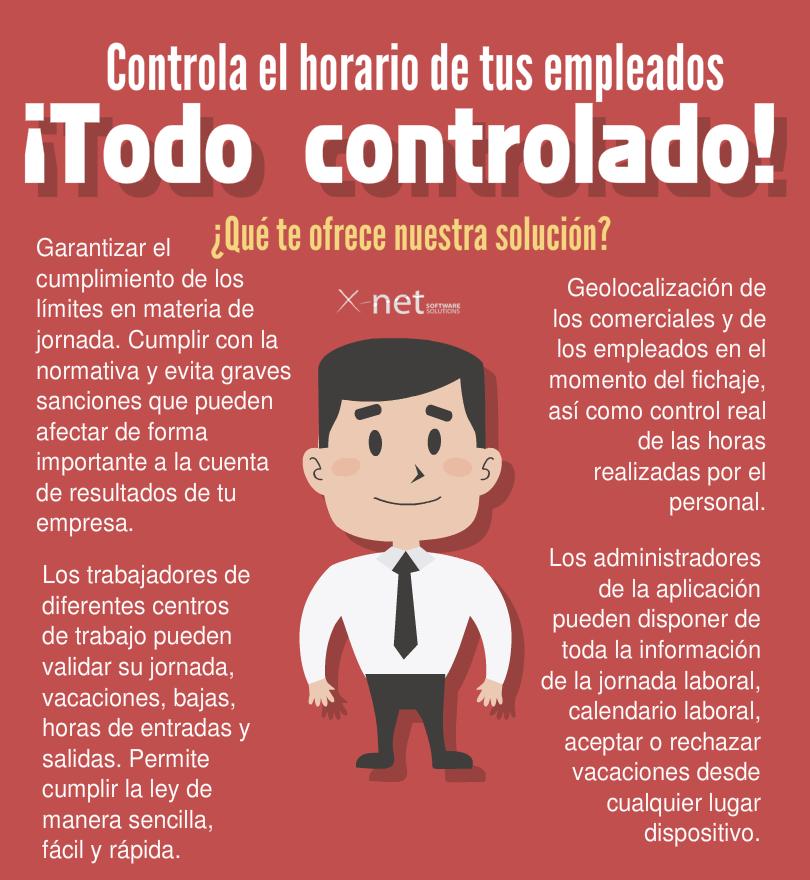 Control horario: Infografía