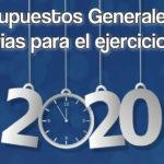 Presupuestos Generales de Canarias 2020