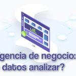 Inteligencia de negocio que datos analizar