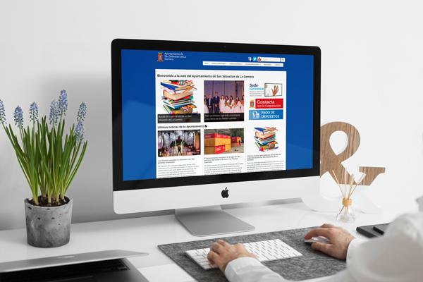 ayuntamiento de la gomera web - Portfolio