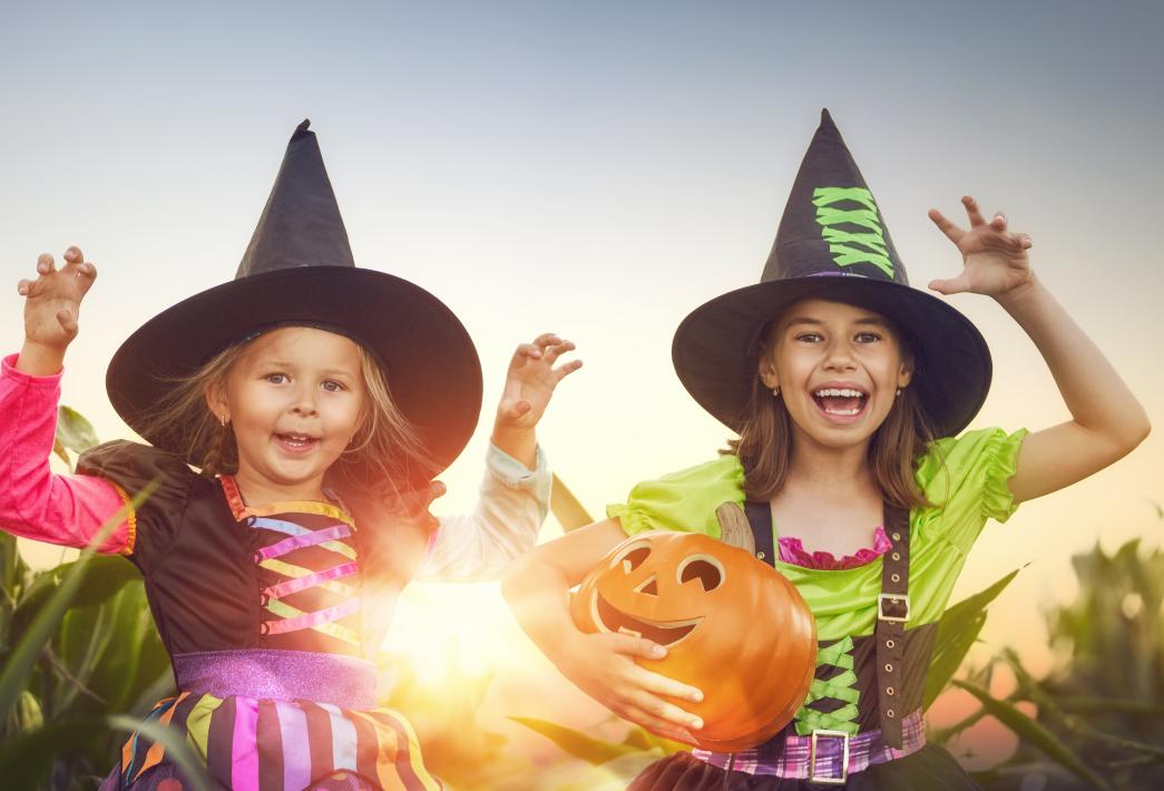 Halloween y el Covid-19 para niños